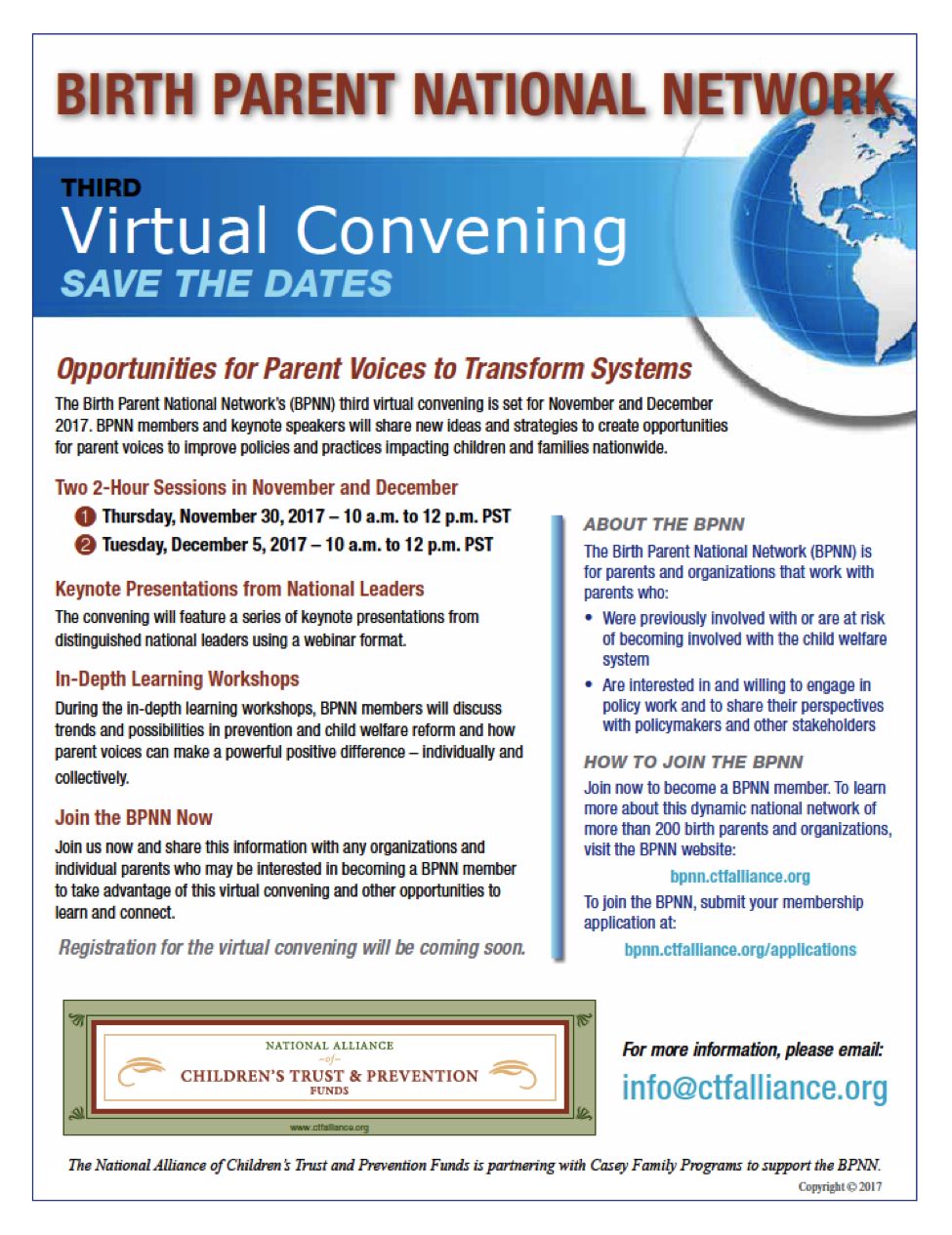 BPNN virtual convention